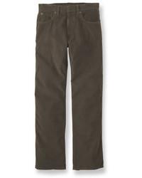 L.L. Bean Llbean 1912 Pants Corduroy Natural Fit