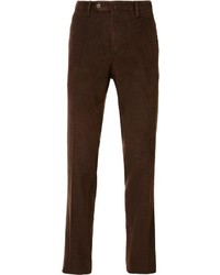 Pt01 Washed Corduroy Slim Trousers