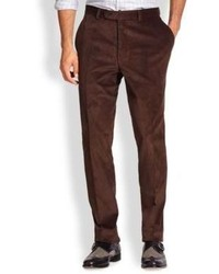 dark brown corduroy pants - Pi Pants