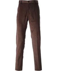 Straight leg corduroy trousers medium 100330