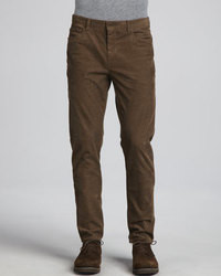 Vince 5 Pocket Corduroy Pants Brown