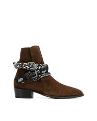 Amiri Double Western Boots