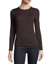 Cashmere collection modern superfine cashmere crewneck sweater medium 4948551