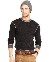 Denim & Supply Ralph Lauren Ribbed Cotton Crew Neck Sweater