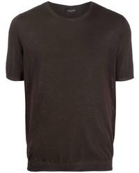 Roberto Collina Crew Neck Cotton T Shirt