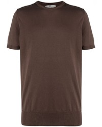 Canali Crew Neck Fitted T Shirt