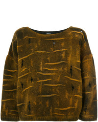 Avant Toi Cropped Sweater