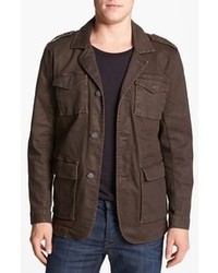 Dark Brown Denim Jacket