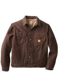 Dark Brown Denim Jackets for Men | Men&39s Fashion