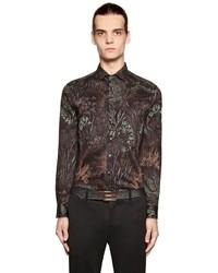 Dark Brown Denim Shirt