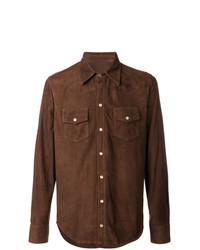 Fortela Suede Western Shirt