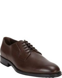 Dark brown derby shoes original 8629930