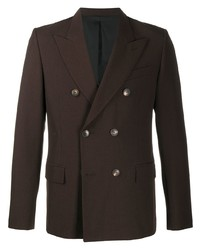 Ami Paris Double Breasted Tailored Blazer