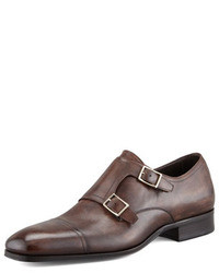 Dark brown double monks original 8630990