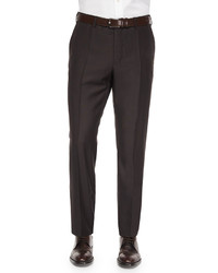 Benson sharkskin wool trousers medium 163508
