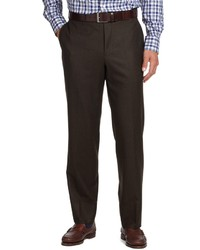 Men's Dark Brown Dress Pants from Brooks Brothers | Men's Fashion