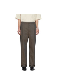 Lemaire Brown Poplin Trousers