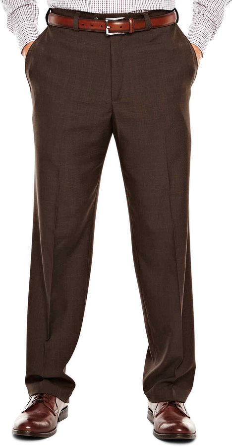 Eclo Classic Fit Flat Front