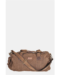 Dark Brown Duffle Bag