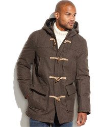 Dark Brown Duffle Coats for Men | Men's Fashion