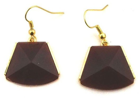 ChicNova The Essential Colorful Faceted Gemstone Earrings