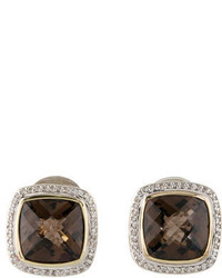 David Yurman Smoky Quartz Albion Earrings