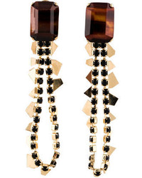 Iosselliani Tigers Eye Earrings