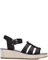 Embellished wedge sandals medium 629983