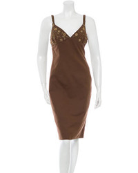 Michl kors embellished sheath dress medium 1014655