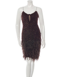 Nem khan embellished knit dress medium 1014656