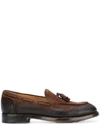 Eleventy Tassel Embellished Loafers
