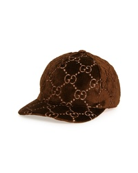 Gucci Ed Velvet Baseball Cap