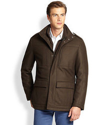 Saks Fifth Avenue Collection Cashmere Field Jacket