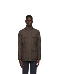 Ermenegildo Zegna Grey Field Jacket