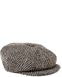 Dark Brown Flat Cap