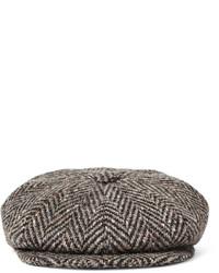 ... Cap Lock   Co Hatters Muirfield Wool Tweed Flat ... 0a37706db6ea