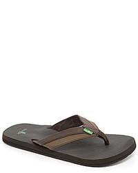 Sanuk Beer Cozy Light Flip Flop Sandals