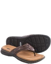 Dr. Scholl's Garth Leather Flip Flops