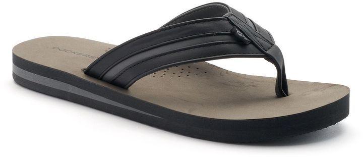 140aa3527221 Dockers Vented Footbed Flip Flops