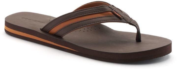 f8aae1fd7453 ... Dockers Vented Footbed Flip Flops ...