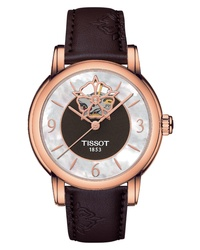 Tissot Lady Heart Leather Watch