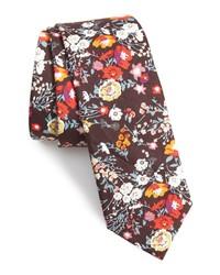 1901 Sefton Floral Cotton Tie