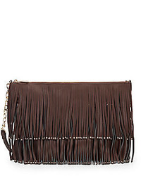 Deux Lux M Fringe Crossbody Bag