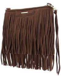 Rebecca minkoff fringed cross body bag medium 803403