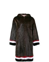 Thom Browne Beaver Fur Swim Parka