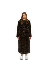 Stand Studio Brown Faustine Long Coat