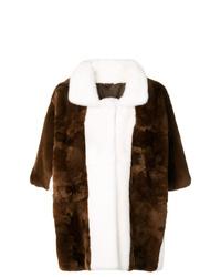 Marni Cutaway Collar Coat