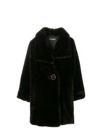 Issey Miyake Vintage Faux Fur Oversize Coat