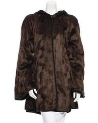 Fendi Sheared Fur Coat