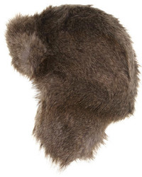 Dorothy Perkins Fox Faux Fur Trapper Hat